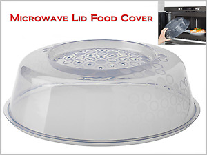Microwave Cover Food Lid to Prevent Splatters when Cooking Diameter 10