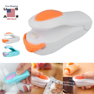 Portable Mini Heat Sealing Machine Impulse Sealer Seal Packing Plastic Bag Tools