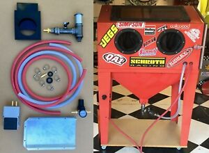 BLAST CABINET UPGRADE KIT Harbor Freight Metering Valve Baffle NO DUST CYCLONE