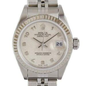 Rolex Datejust Lady 79174 P Number Computer Dial Overhauled AT Ladies [a0430]
