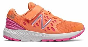 New Balance Kid#x27;s FuelCore Urge Little Kids Female Shoes Orange with Pink