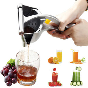 Big Manual Juicer Aluminum Alloy Nut Fruit Lemon Orange Squeezer Extractor Tools