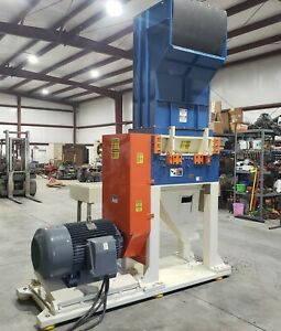 Rebuilt Cumberland 37B Granulator with Hog Rotor 150HP