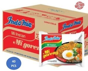 Indomie FRIED NOODLES 100% HALAL Mi Goreng (Pack of 40) ORIGIN INDONESIA