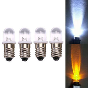 5pcs E10 Led Bulb DC 3V 4.5V Instrunt Bulb Indicator Bulb Flashlight BulbPLB WMS