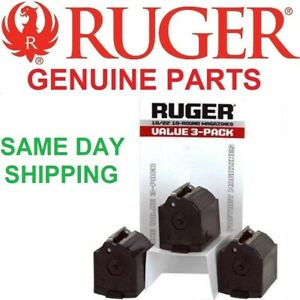 Ruger 90451 1022 Magazine Value 3 Pack BX-1 22LR 10 Round $40.94