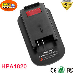 HPA1820 Battery Adapter For Black & Decker 20V Li-ion To 18V NiCd & NiMh Tools