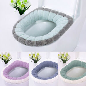 Universal Warm Soft Washable Toilet Seat Cover Mat Closestool Toilet Lid CoveWMS