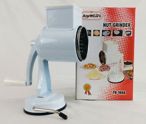 Any Wears Nut Grinder YG 160A EUC Nuts Seeds Hard Cheese Manual Grinder Suction