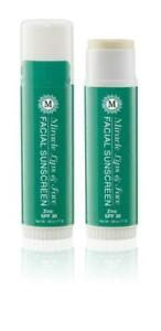 Two Pack of Organic Miracle Facial Sunscreen Stick with Zinc Oxide 1.12 oz Wow $19.98