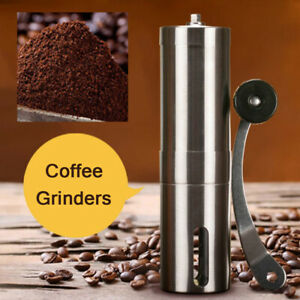 Stainless Steel Portable Hand Hand Mill Crank Manual Coffee Bean Grinder