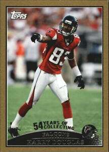 2009 Topps Gold Football Card Pick $3.00