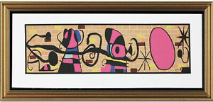 Fine Joan Miro Signed amp; Not Numbered quot;Moon and Sun quot; Lithograph Print unframed $89.99