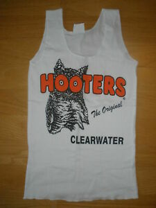 New HOOTERS Girl Sexy *Grab Bag* Authentic White Uniform Tank Florida XS S M L