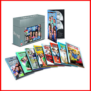 SCRUBS -COMPLETE COLLECTION- SEASONS 1 2 3 4 5 6 7 8 & 9 *BRAND NEW DVD BOXSET *