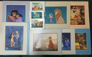 Disney Store Exclusive Lithograph Lot Cinderella Lion King Toy Story Aladdin $59.99