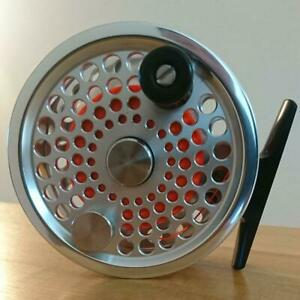 Used Abel BG-1 Ported Clear Fly Fishing Reel Sporting Goods Very Rare
