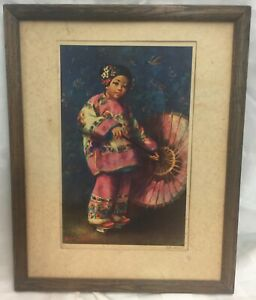 Esther Hunt Lithograph Signed $75.00
