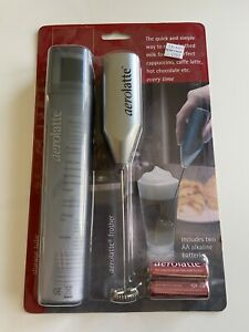 New Aerolatte Milk Frother  For A Perfect Cappuccino Or Latte With Storage Tube