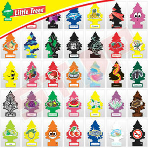 Little Trees Air Freshener Car Home Office Air Freshener (4 Pack) Every Scent