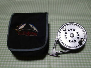 Steel Fin Pelagio Fly Fishing Reel Sporting Goods With Case Rare