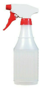 Plastic Spray Bottle 16 OZ Multi-PurposeProfessional grade Mist and Spray