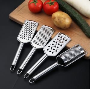 Multi-purpose Stainless Steel Hand Held Grater Ginger Citrus Cheese Grater Tool