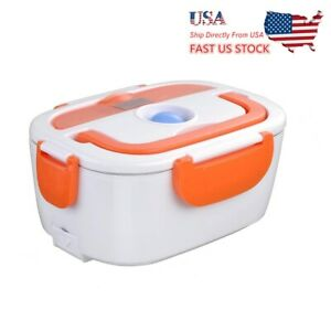 1.5L Portable Electric Heating Lunch Box Case 304 Steel For Home And Office