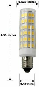 LED E11  5W 50W Equivalent Mini-Candelabra 110-130V JD Soft White 3000K