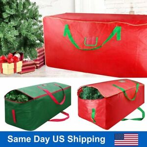 New Christmas Tree Storage Bag Double Zipper Holiday Up to 9 Ft. Trees w Handles $15.86