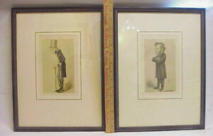 2 Antique Lithographs Sir Richard Owen Thomas Henry Huxley Carlo Pellegrini APE $49.99