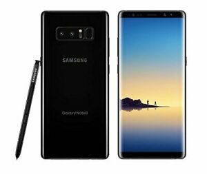 Samsung Galaxy Note 8 N950U 64GB Verizon Unlocked Midnight Black Smartphone $207.99