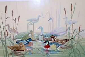 Vintage Lithograph DECOYS by Ellen A Nelson Signed and numbered $89.00