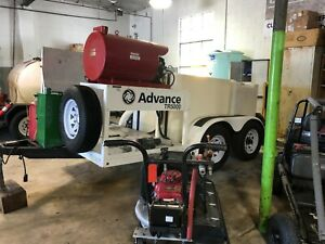 Pressure Wash Trailer with Reclaim- Advance TR5000
