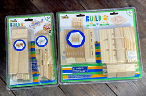 Brand New Createamp;Learn Fun Project Kids Wooden Build Kits Age 5 Lot Of 2 Kits