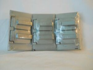 THREE METAL ALL WEATHER OUTDOOR SWITCH OR RECEPTACLE PLATES NEW FREE SHIPPING