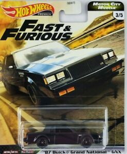 Hot Wheels Fast & Furious 87 Buick Grand National GNX New 2020