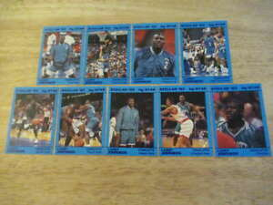 1993 STAR LARRY JOHNSON STELLAR COMPLETE 9 CARD SET HORNETS ST4381