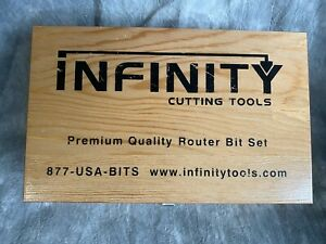 Infinity Cutting Tools 3 piece Cabinetmaker's Ogee Router Bit Set 00-100