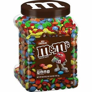 M&M's Milk Chocolate Candies Jar (62.0 OZ), 62 oz