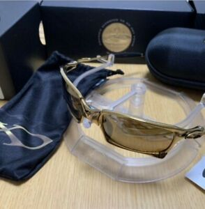 OAKLEY X-squared 24K Gold Sunglasses World Only 750 Very Rare