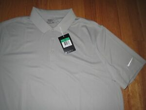 Men's Nike Dri Fit Gray Golf Polo MSRP $55.00 XL **NEW** $29.95