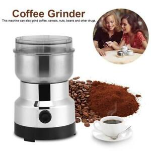 Electric Spices Nuts Coffee Bean Mill Blade Grinder With Stainless Steel Blades