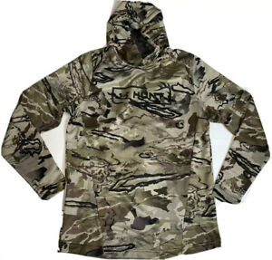 Under Armour Men's Small UA Hunt Tech Barren Forest Camo Hunting Hoodie NWT $49.39