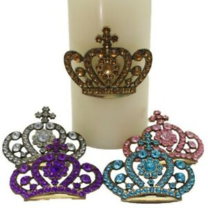 Crown Design Candle Pin Sets- 5 colors