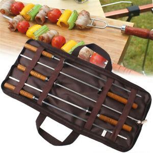 Camping Campfire Hot Dog Telescoping Roasting Fork Sticks Skewers BBQ fork Hot