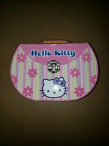 Hello Kitty Purse Floral Pink Metal FREE SHIPPING