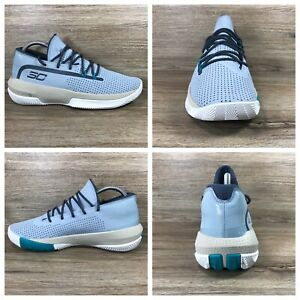 Under Armour UA SC Curry 3 Zero Basketball Shoe 3022048 402 Harbor Blue Men's 8 $69.99