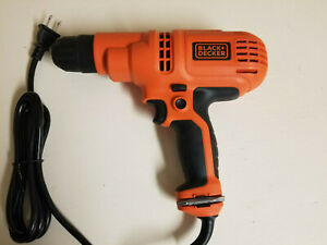 Black & Decker 3/8-inch 120V Electric Variable Speed Corded Drill Driver DR260C