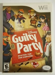 Disney Guilty Party Nintendo Wii Complete with Case and Manual Tested $8.95